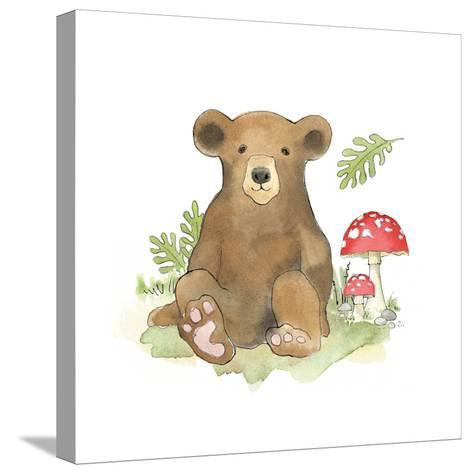 Baby Woodland II-Beth Grove-Stretched Canvas Print
