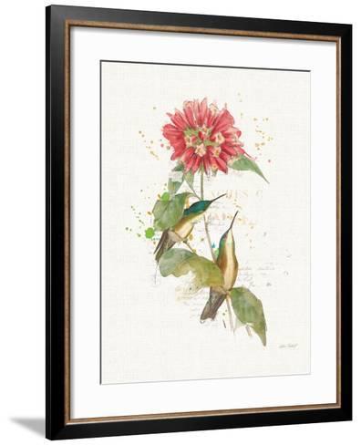 Colorful Hummingbirds I-Katie Pertiet-Framed Art Print