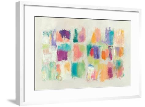 Popsicles Horizontal Stone-Mike Schick-Framed Art Print
