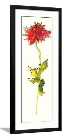 Peony Form Poppies III-Shirley Novak-Framed Art Print