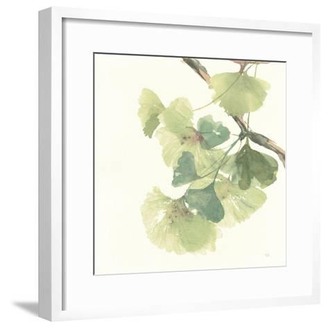 Gingko Leaves II Light-Chris Paschke-Framed Art Print