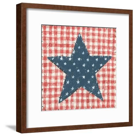 Americana Quilt II-David Carter Brown-Framed Art Print
