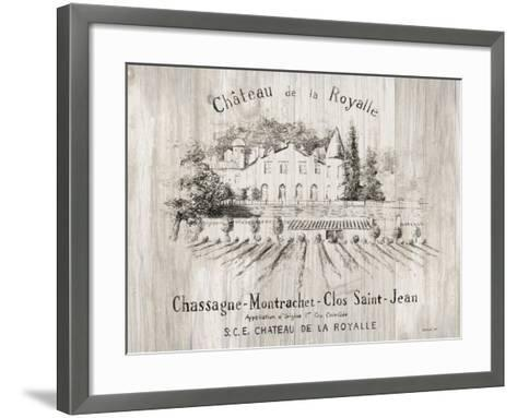 Chateau Royalle on Wood-Danhui Nai-Framed Art Print