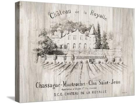 Chateau Royalle on Wood-Danhui Nai-Stretched Canvas Print