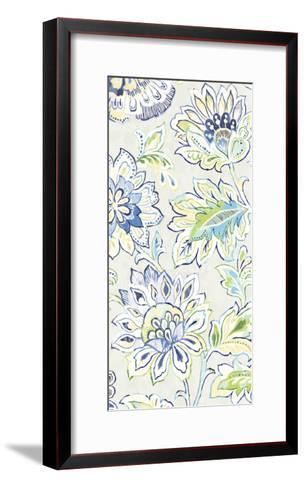 Ceylon Gardens VIII Indigo-Wild Apple Portfolio-Framed Art Print
