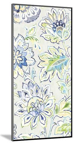 Ceylon Gardens VIII Indigo-Wild Apple Portfolio-Mounted Art Print