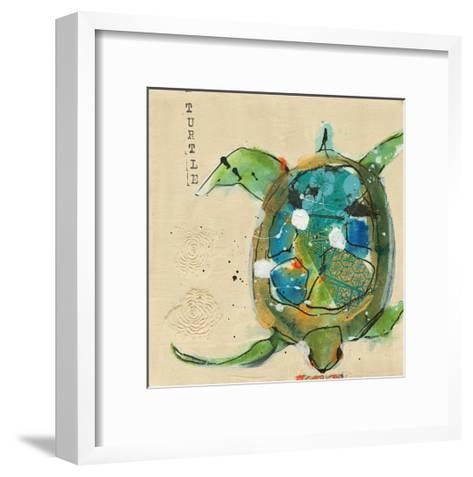 Chentes Turtle Light-Kellie Day-Framed Art Print