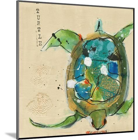 Chentes Turtle Light-Kellie Day-Mounted Art Print