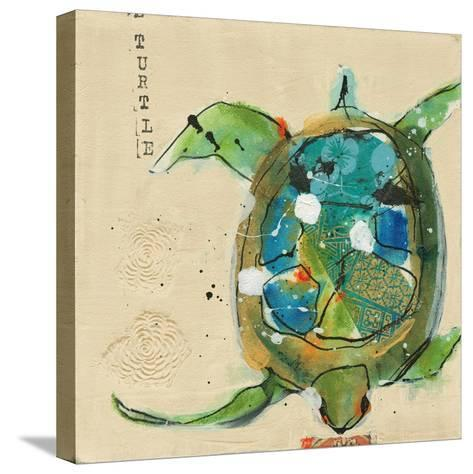 Chentes Turtle Light-Kellie Day-Stretched Canvas Print