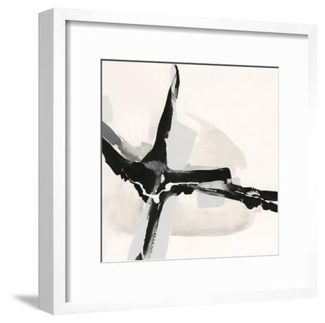 Creamy Neutral I-Chris Paschke-Framed Art Print