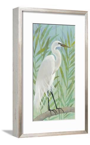 Egret by the Shore I-Kathrine Lovell-Framed Art Print