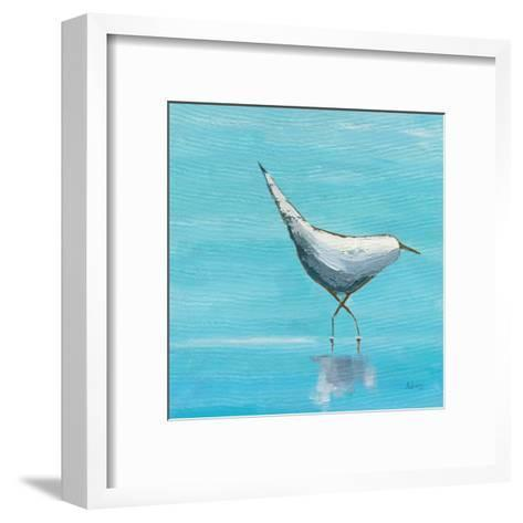 Egret I Bright-Phyllis Adams-Framed Art Print