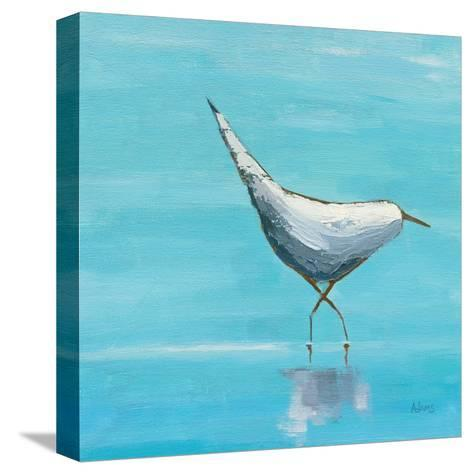 Egret I Bright-Phyllis Adams-Stretched Canvas Print