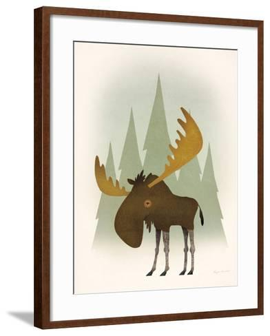 Forest Moose-Ryan Fowler-Framed Art Print