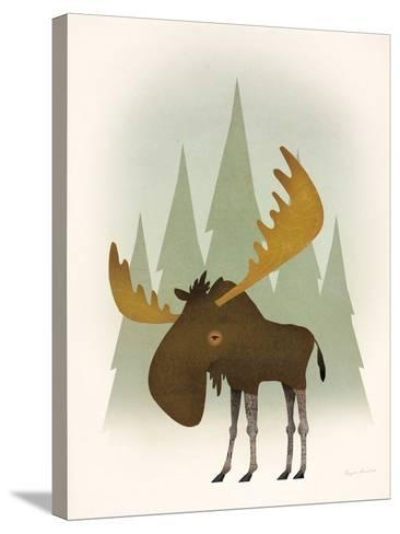 Forest Moose-Ryan Fowler-Stretched Canvas Print