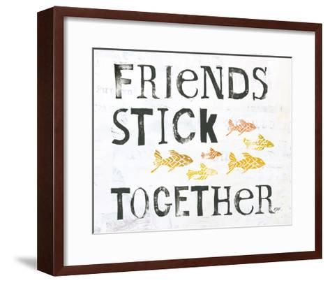 Friends Stick Together-Kellie Day-Framed Art Print