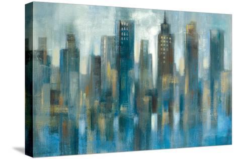 Rhythmic Reflection Light-Silvia Vassileva-Stretched Canvas Print