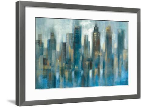 Rhythmic Reflection Light-Silvia Vassileva-Framed Art Print