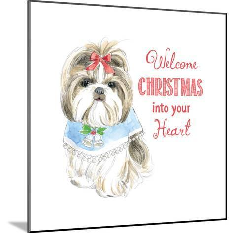 Glamour Pups Christmas II-Beth Grove-Mounted Art Print