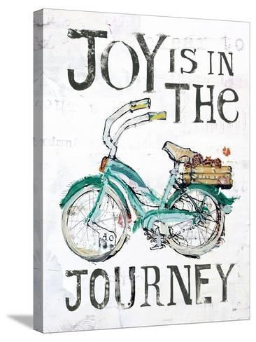 Joy is in the Journey-Kellie Day-Stretched Canvas Print