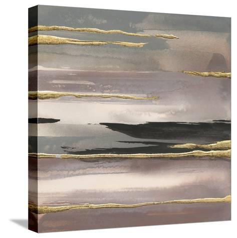 Gilded Morning Fog II Gold-Chris Paschke-Stretched Canvas Print