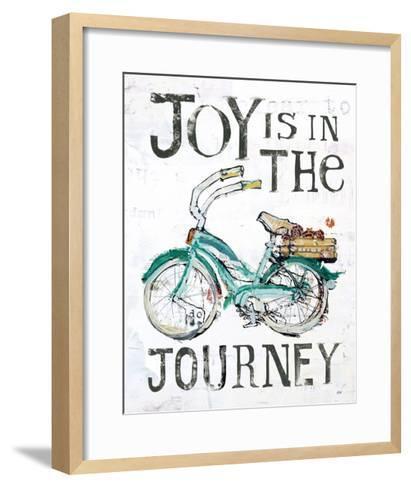 Joy is in the Journey-Kellie Day-Framed Art Print