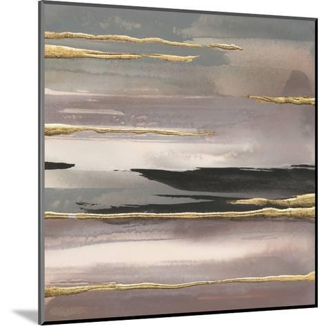 Gilded Morning Fog II Gold-Chris Paschke-Mounted Art Print
