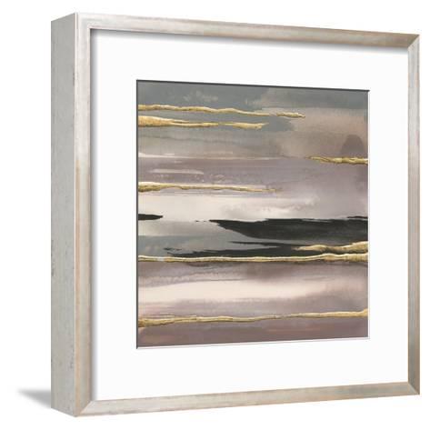 Gilded Morning Fog II Gold-Chris Paschke-Framed Art Print