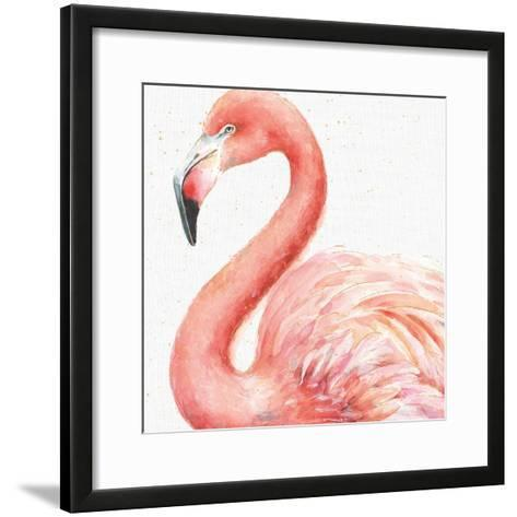 Gracefully Pink III-Lisa Audit-Framed Art Print