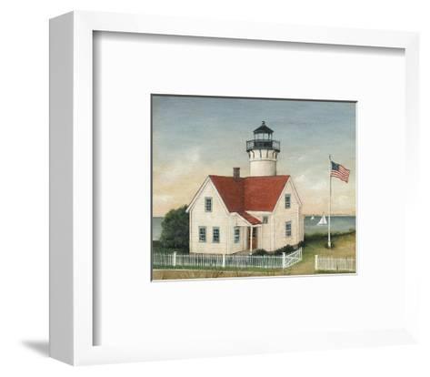 Lighthouse Keepers Home-David Carter Brown-Framed Art Print