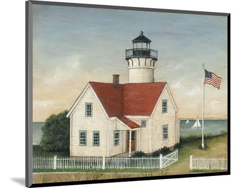 Lighthouse Keepers Home-David Carter Brown-Mounted Art Print