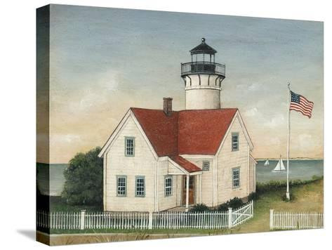 Lighthouse Keepers Home-David Carter Brown-Stretched Canvas Print
