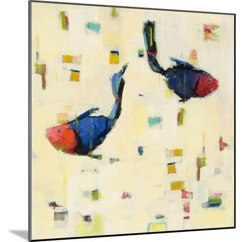 One Fish Two Fish Big-Phyllis Adams-Mounted Art Print