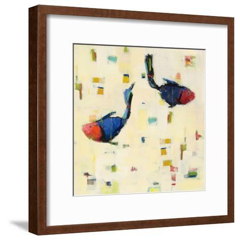 One Fish Two Fish Big-Phyllis Adams-Framed Art Print
