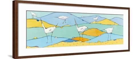 Marsh Egrets I-Phyllis Adams-Framed Art Print
