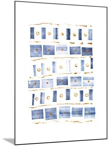 Ocean Blue III-Wild Apple Portfolio-Mounted Art Print