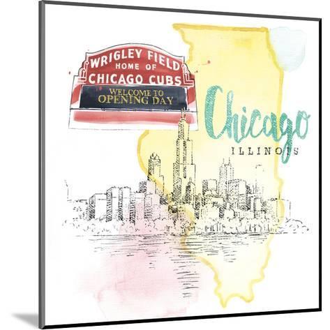 US Cities II-Beth Grove-Mounted Art Print