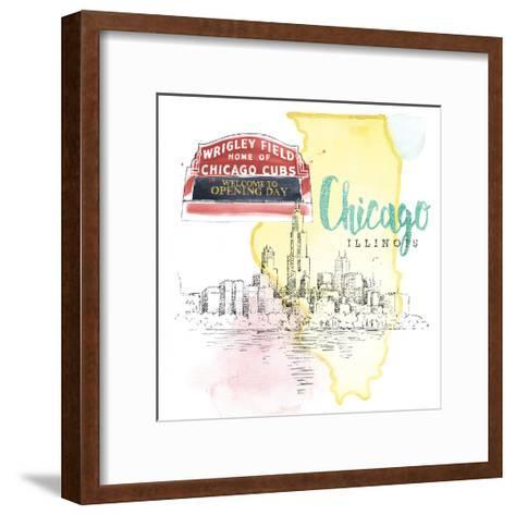 US Cities II-Beth Grove-Framed Art Print