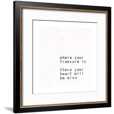 Words of Encouragement V-Emily Adams-Framed Art Print