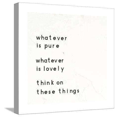 Words of Encouragement IV-Emily Adams-Stretched Canvas Print