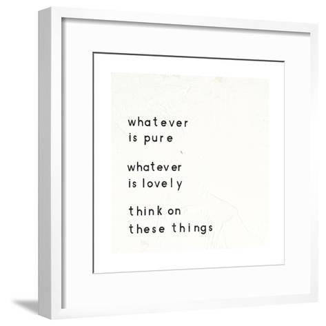 Words of Encouragement IV-Emily Adams-Framed Art Print