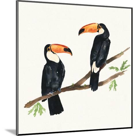 Tropical Fun Bird I-Harriet Sussman-Mounted Art Print