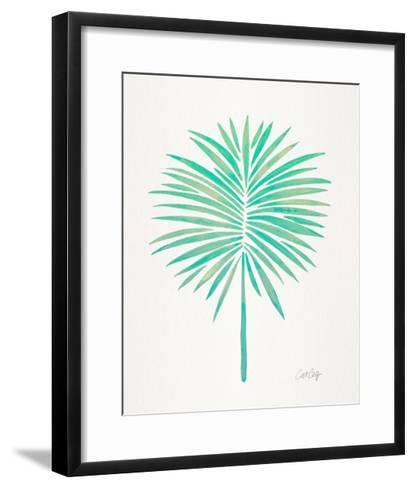 Seafoam Fan Palm-Cat Coquillette-Framed Art Print