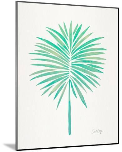 Seafoam Fan Palm-Cat Coquillette-Mounted Giclee Print
