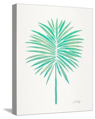 Seafoam Fan Palm-Cat Coquillette-Stretched Canvas Print