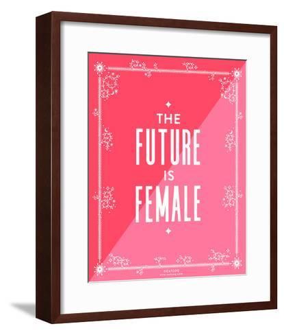 Future Female-Cat Coquillette-Framed Art Print