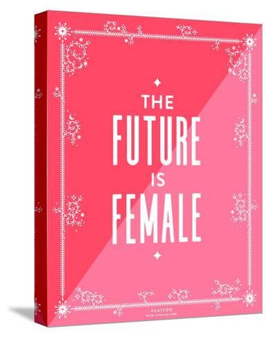 Future Female-Cat Coquillette-Stretched Canvas Print