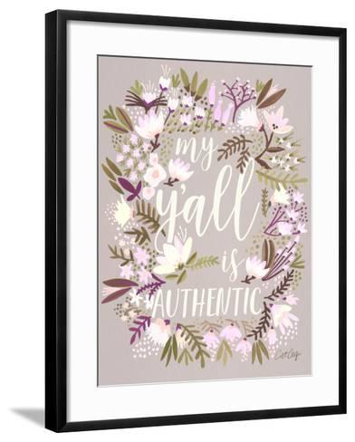 Spring Y'all-Cat Coquillette-Framed Art Print