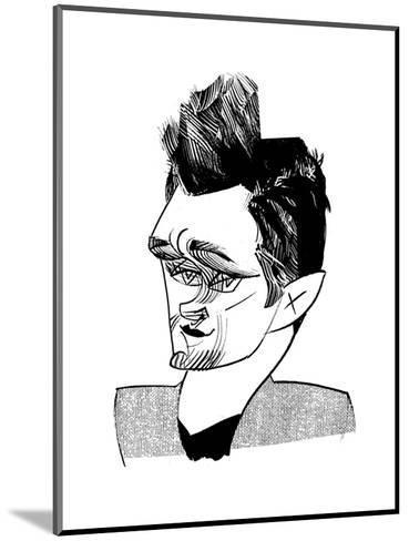 Hugh Dancy - Cartoon-Tom Bachtell-Mounted Premium Giclee Print