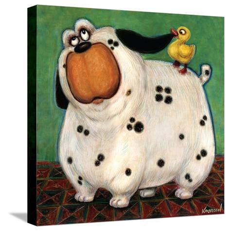 There's a Duck in My Ear-Kourosh-Stretched Canvas Print